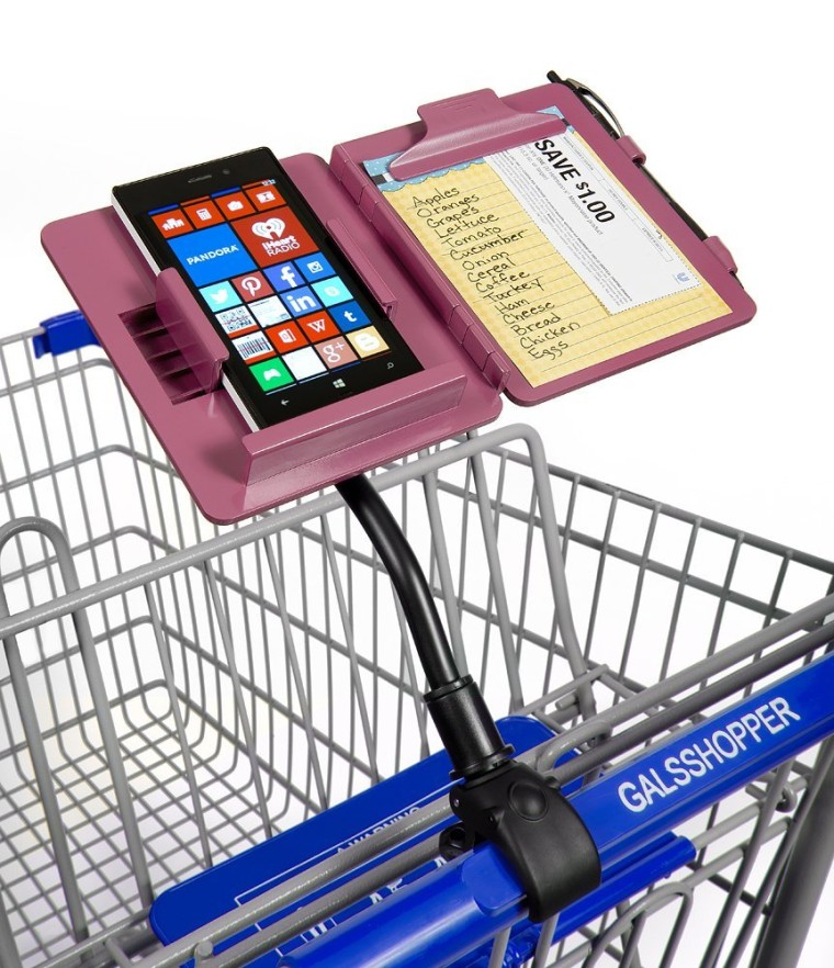 All-in-one cart organizer