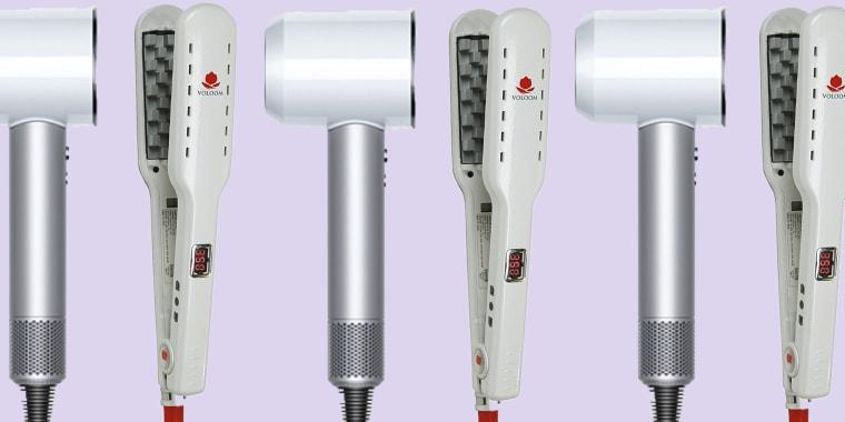 Curly hair hot tools
