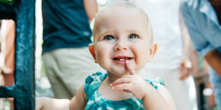 """Edie was a bold, happy baby, who always wanted to """"go"""" and """"walk."""" Shortly after she turned 1, she started displaying upsetting symptoms."""