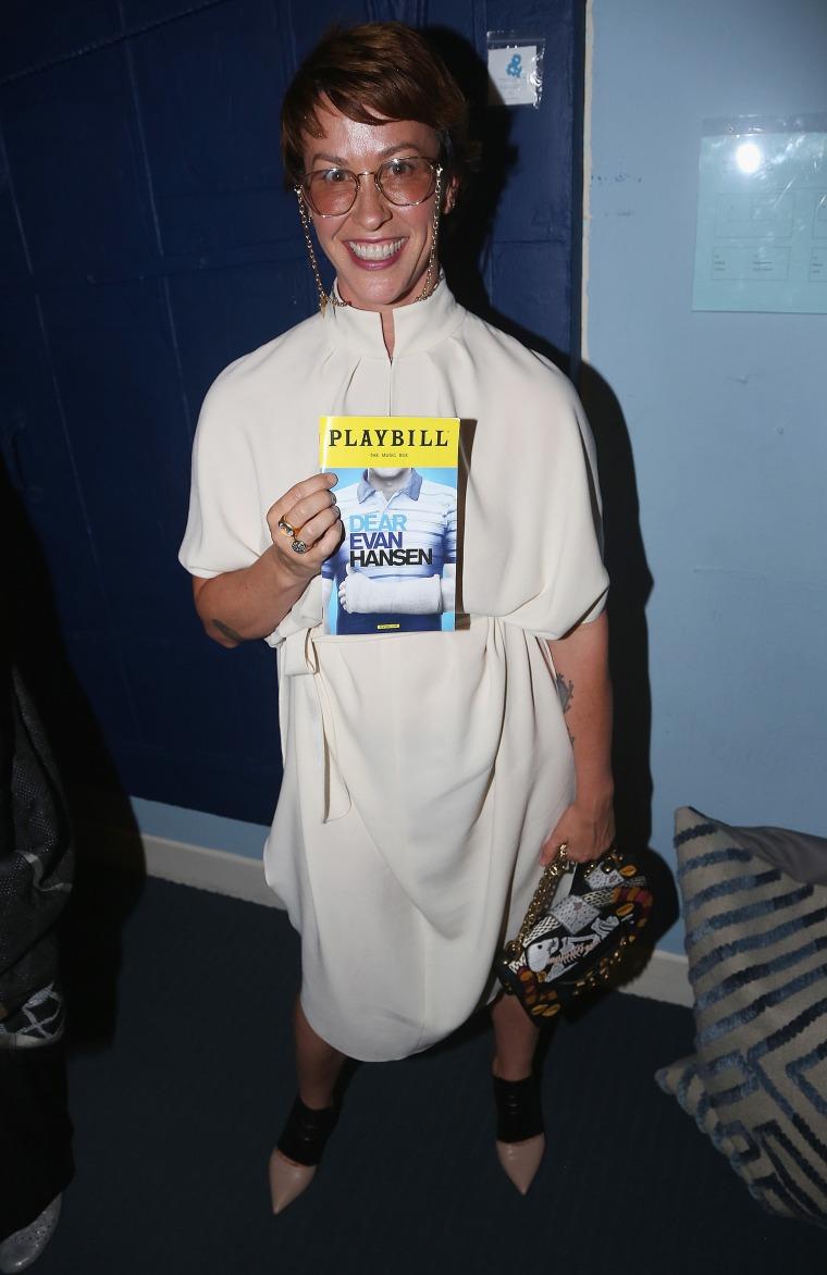 Celebrities Visit Broadway - April 18, 2018