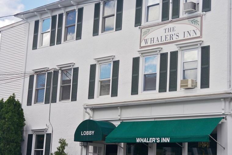 North America, USA, Connecticut, Mystic.  An inn in downtown Mystic