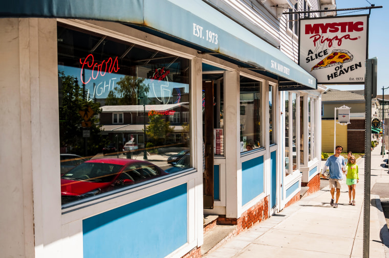 Mystic Pizza in Connecticut, USA