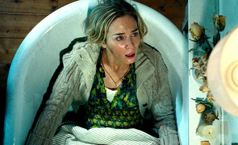 Image: Emily Blunt in 'A Quiet Place'