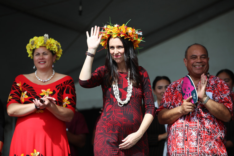 Image: Prime Minister Jacinda Ardern Attends Polyfest