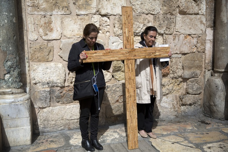 Image: Christians in Bethlehem