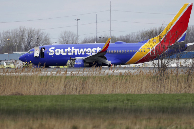 Passenger killed after engine fragment damages Southwest jet