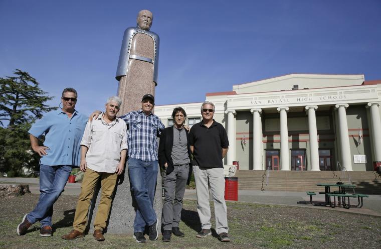 Image: Mark Gravitch, Larry Schwartz, Dave Reddix, Steve Capper and Jeffrey Noel