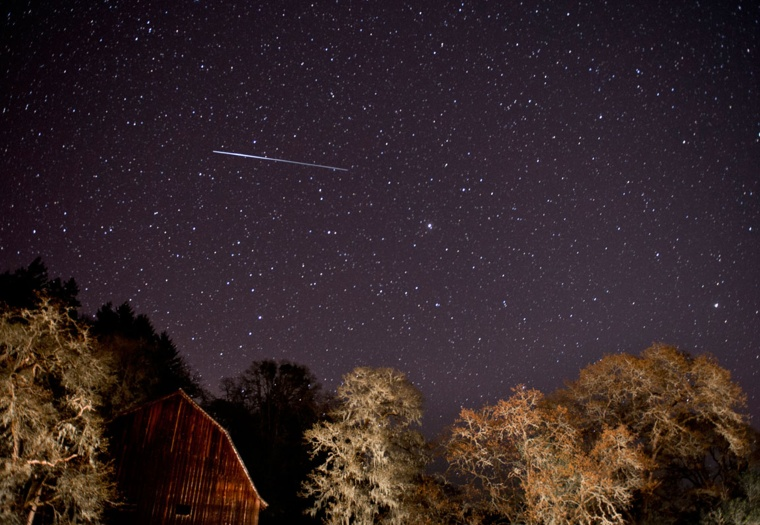 Image: Lyrid Meteor Shower