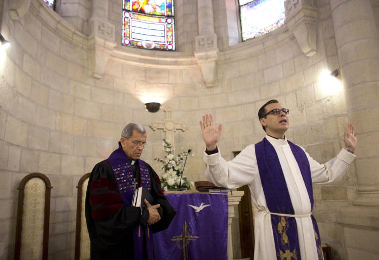 Image: Christians in Bethlehem