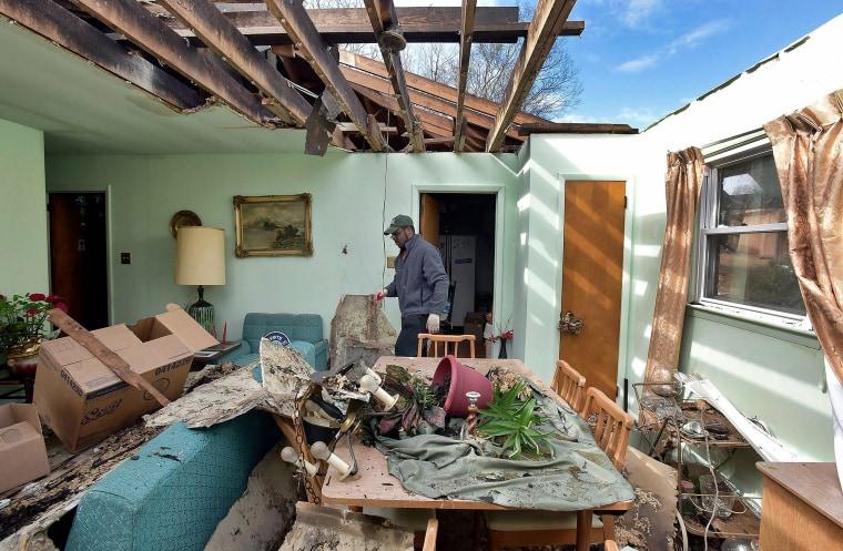 Image: Tornado Hits Greensboro