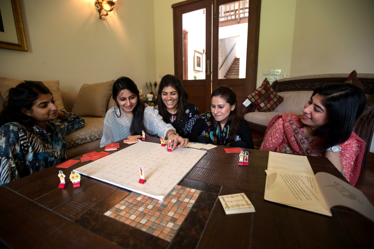 "Image: Nashra Balagamwala's board game ""Arranged!"" sheds light on the challenges Pakistani women face when it comes to an arranged marriage."