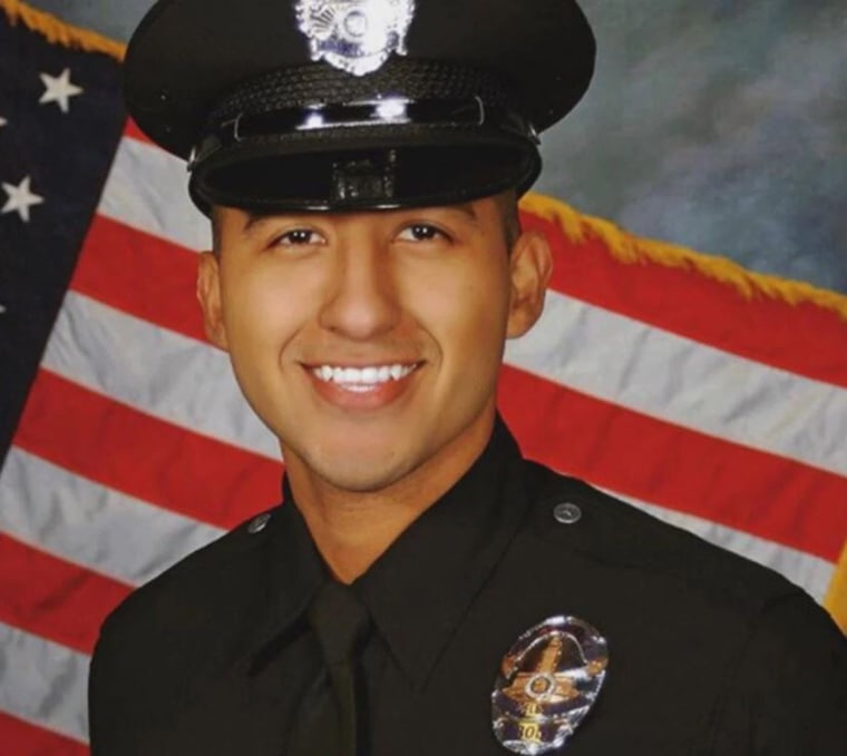 Image: LAPD officer Edgar Verduzco