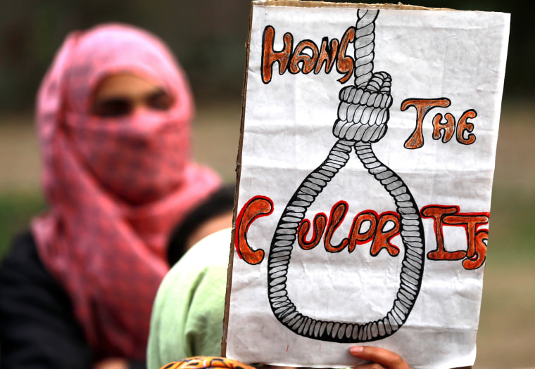 Image: Indian government to propose death penalty for child rapists