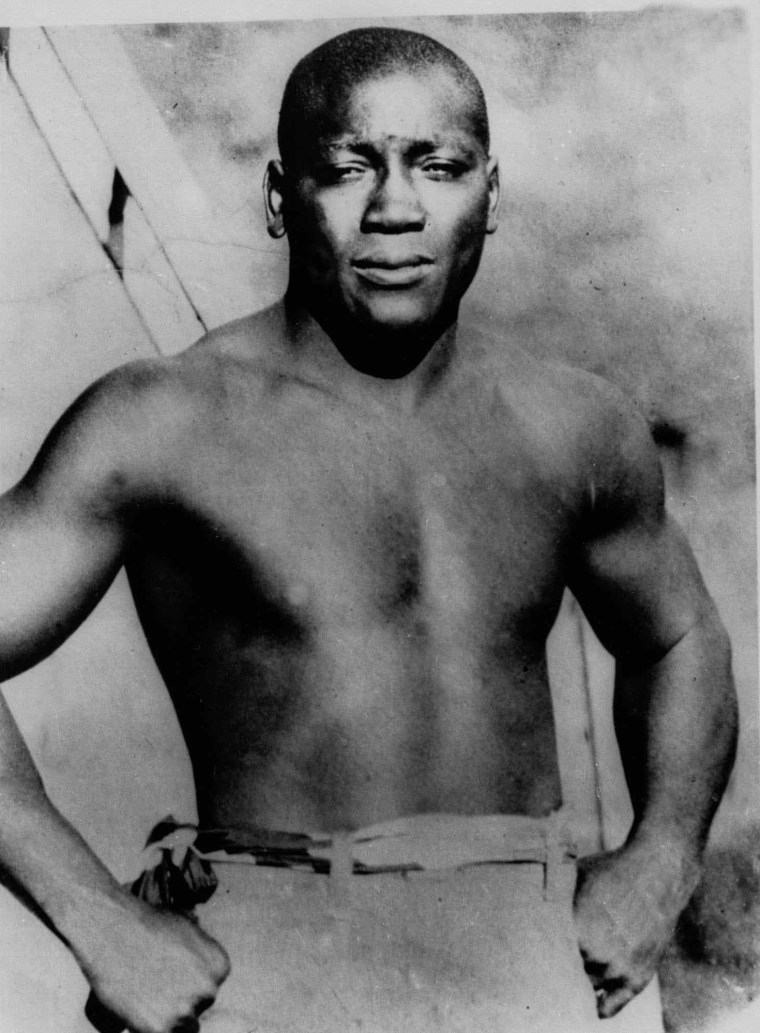 Image: Boxer Jack Johnson