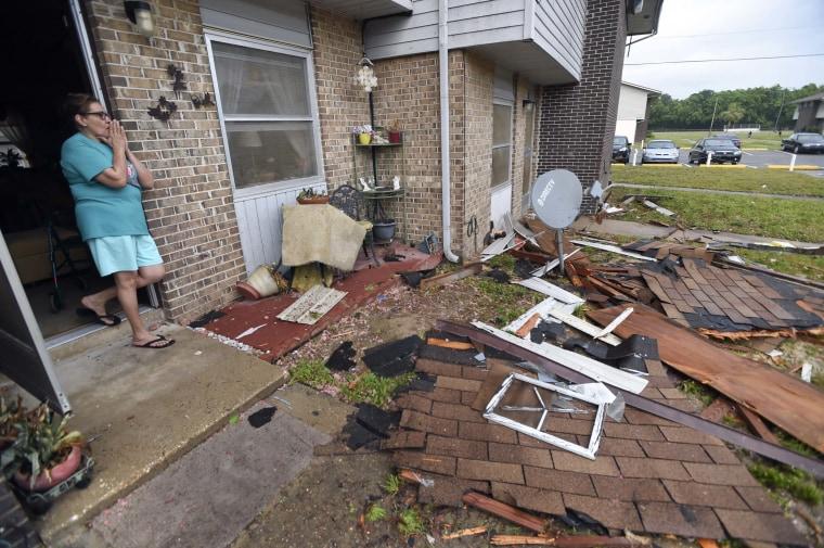Image: Fort Walton Beach damage