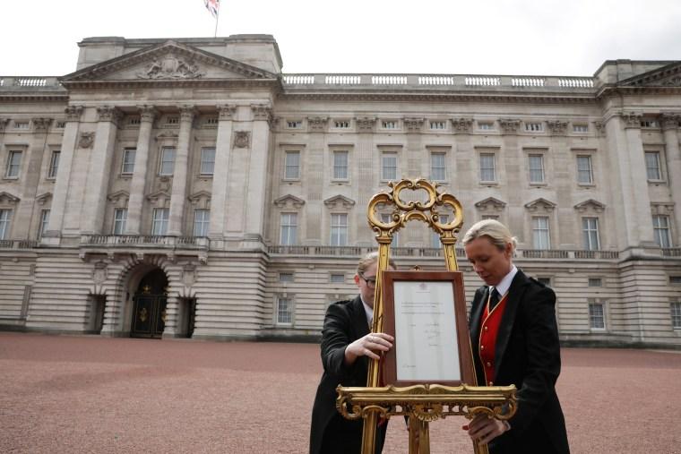 Image: The Duke & Duchess Of Cambridge Welcome A Baby Boy
