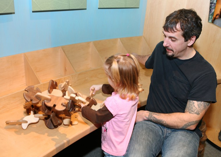 At the Please Touch Museum, little ones can ride the carousel, visit with some of their favorite characters, and participate in a number of hands-on workshops and activities.