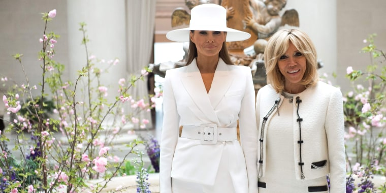 Melania Trump white hat