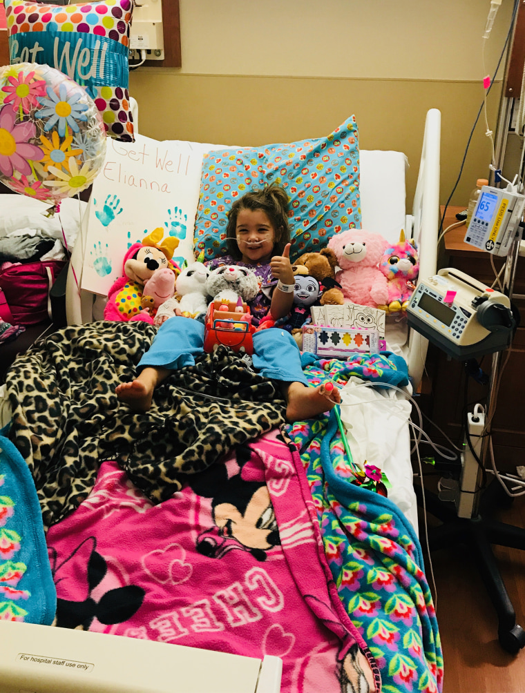 After inhaling some water while playing in the pool Elianna Grace, 4, became very ill. Mom Lacey Grace knew to take her to the hospital because of an article about a boy who died from secondary drowning.