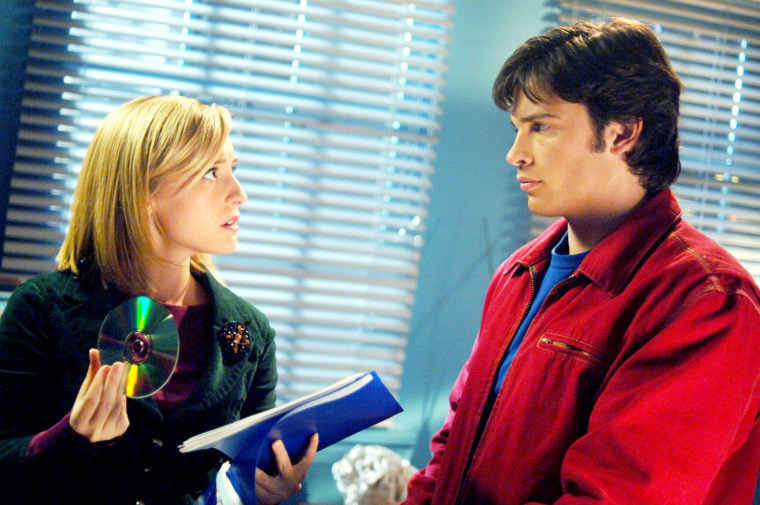 SMALLVILLE, Allison Mack, Tom Welling, (Season 5), 2001-2011. (C) Warner Bros.