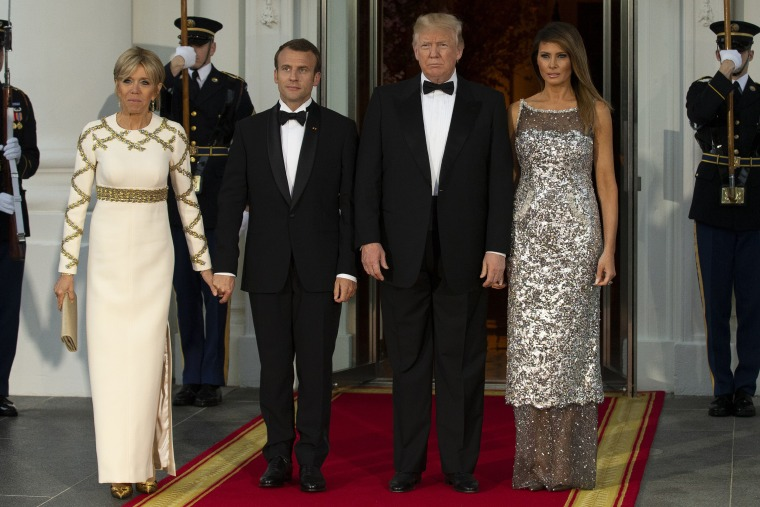 President Trump Hosts French President Emmanuel Macron For State Visit At The White House