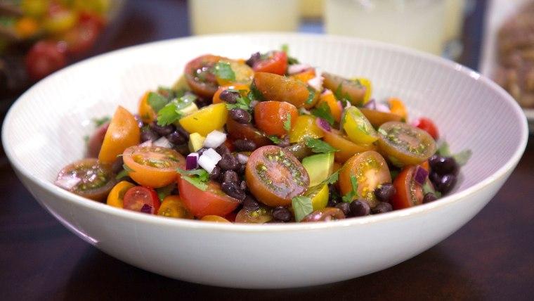 Smollett Siblings Blavamato Salad