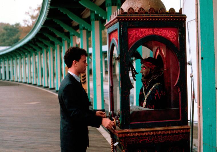 "Tom Hanks visits Zoltar in ""Big"""