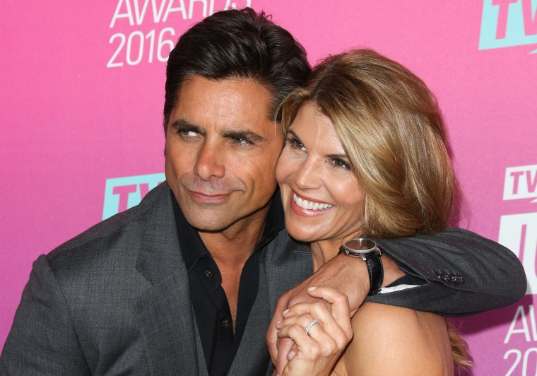 Lori Loughlin and John Stamos
