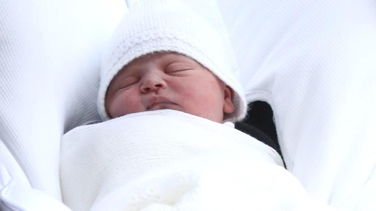 Hello Prince Louis Arthur Charles!