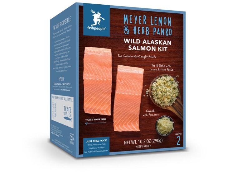 Fishpeople Meyer Lemon & Herb Panko Wild Alaskan Salmon Kit