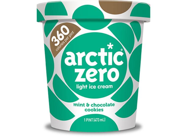 Arctic Zero Mint & Chocolate Cookies Light Ice Cream