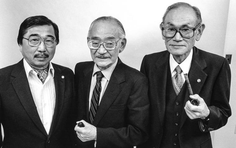 Image: Gordon Hirabayashi, Minoru Yasui, Fred Korematsu