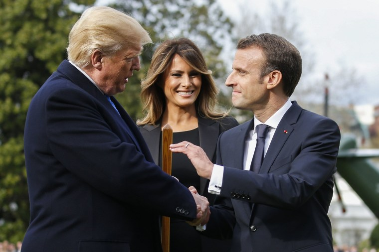 Image: President Donald J. Trump hosts French President Emmanuel Macron