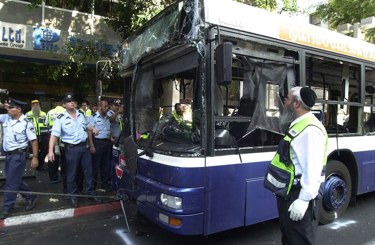 Image: Suicide Bombing Kills Five In Tel Aviv