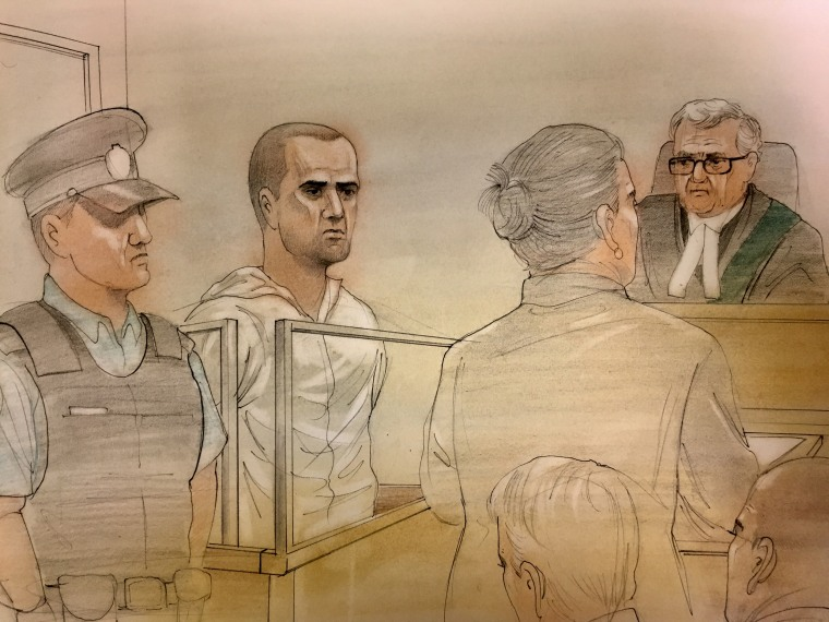Image: Alek Minassian courtroom sketch
