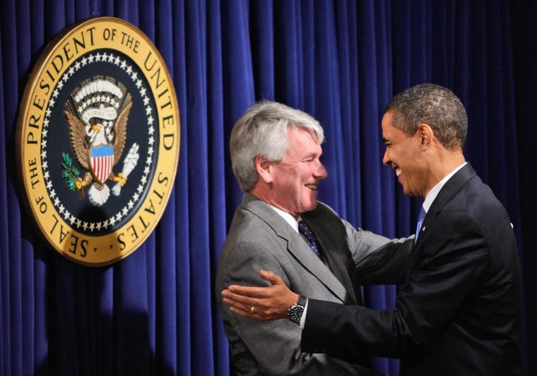 Image: Barack Obama, Gregory Craig