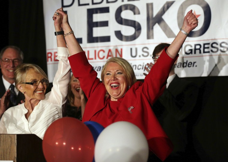 Image: Debbie Lesko wins in Arizona