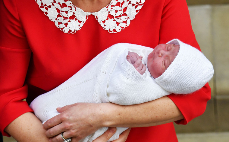 Louis Arthur Charles Prince William And Duchess Kate Name New Royal