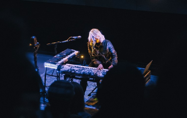 Image: MILCK performs in New York City, on April 12, 2018.