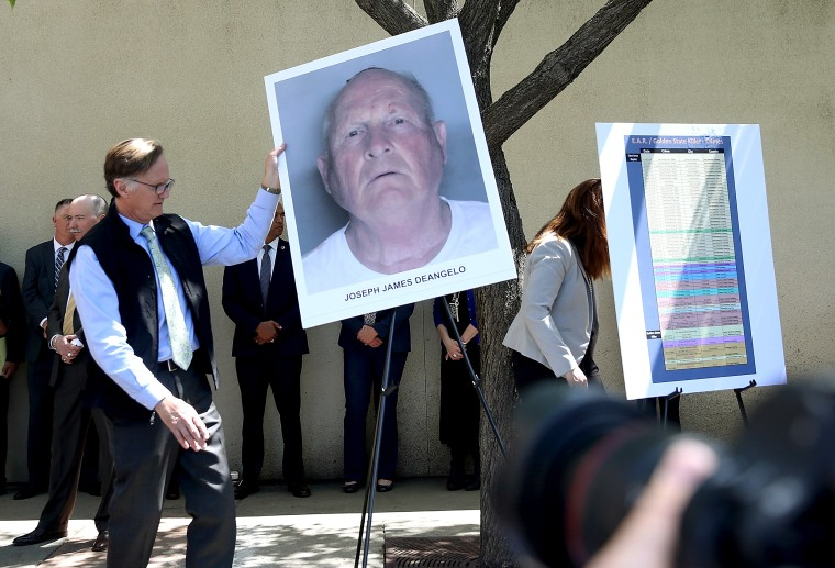 Image: Sacaramento DA Makes Major Announcement On Golden State Killer Case