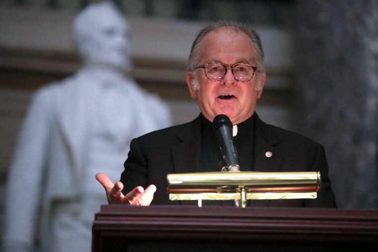 Image: US House Chaplain Patrick Conroy