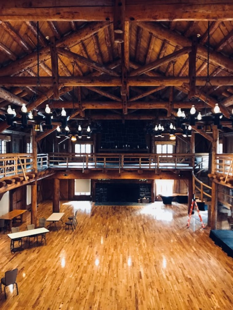 The Great Hall in Sunriver, Oregon.