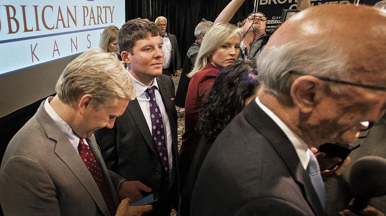 Senator Pat Roberts wins another term