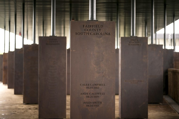 Image: National Memorial For Peace And Justice Examines U.S. History Of Lynchings