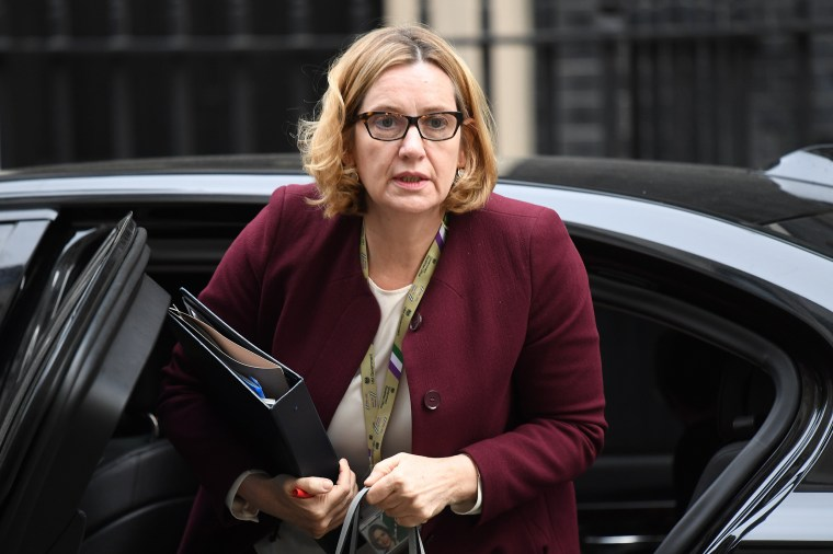 Image: Home secretary Amber Rudd