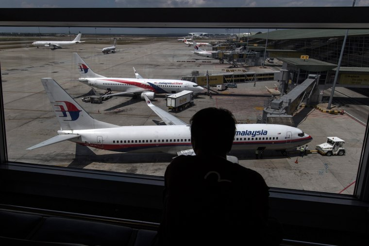Image: Malaysian Airlines missing aircraft