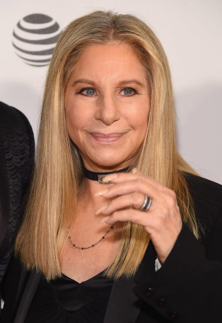 Barbra Streisand nails