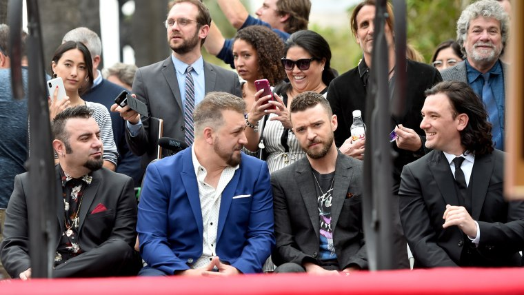 Image: NSYNC Honored With Star On The Hollywood Walk Of Fame
