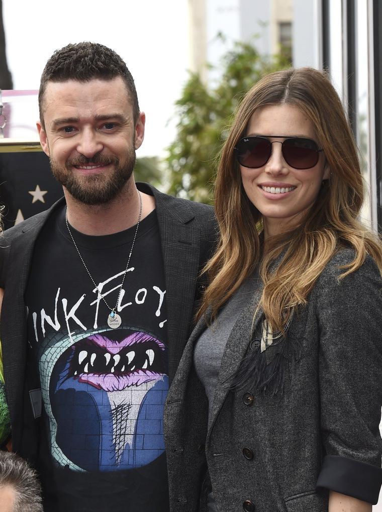 Image: Justin Timberlake, Jessica Biel