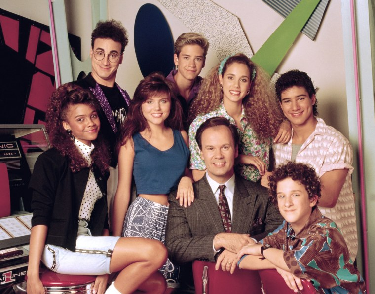 """""""Saved by the Bell"""" cast"""